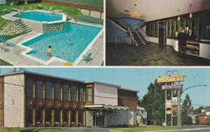 Motel Le Grand Bien , GRANBY , Quebec , 40-60s ; Swimming Pool