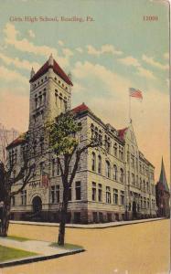 Girls High School, Reading, Pennsylvania, 1910-1920s