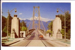 Lions Gate Bridge, Vancouver, British Columbia, Bus