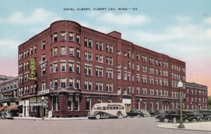 ALBERT LEA, Minnesota, 1930-40s; Hotel Albert