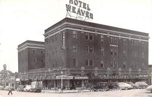 Hotel Weaver Falls City NE 1951