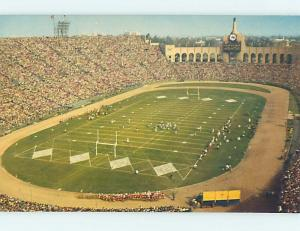 Pre-1980 USC FOOTBALL AT MEMORIAL COLISEUM Los Angeles California CA hn1888