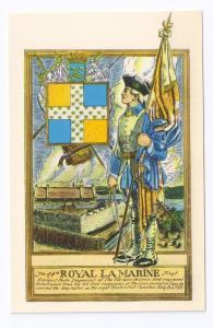 44th Royal La Marine Regiment French Troops Fort Ticonderoga