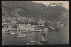 100662 MONACO Monte-Carlo Vue prise de Monaco Lighthouse Old