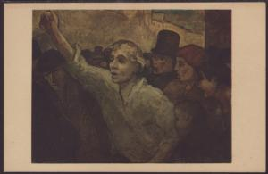 The Uprising,Daumier,Painting Postcard