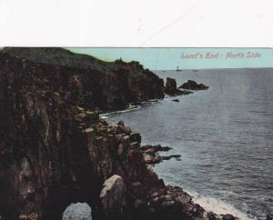 Land's End: North Side, Cornwall, England, United Kingdom, PU-1908