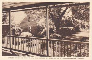 Garden At The Home Of Marry The Mother Of Washington Fredericksburg Virginia ...