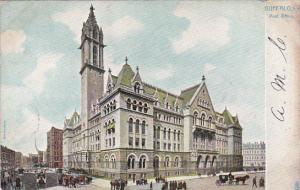 Post Office Buffalo New York 1906 Tucks