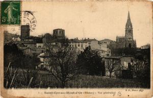 CPA Sain Cyr au Mont d'or - vue generale (572894)