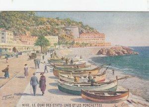 NICE , France , 1900-10s ; Le Quai Des Etats ; TUCK