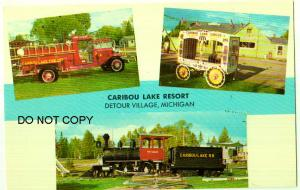Caribou Lake Resort, Detour Village Mich