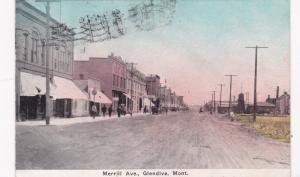 GLENDIVE , Montana , PU-1913 ; Merrill Avenue