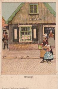 Netherlands Marken Village Scene