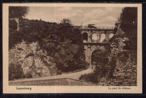 Le pont du Chteau,Luxembourg BIN