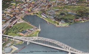 Iowa Dubuque Julien Dubuque Bridge