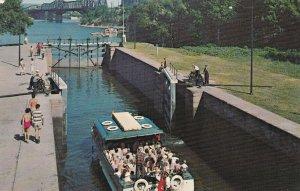 OTTAWA , Ontario , 40-60s ; Rideau Canal and Locks