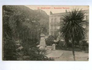 158605 France BEAULIEU Monument MARINONI Vintage postcard
