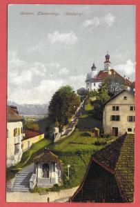 Hallenn Monestary Stairs, Salzburg - Austria - 1917
