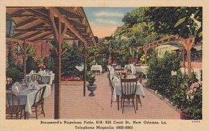 Louisiana New Orleans Broussards Napolean Patio Restaurant