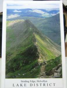 England Lake District Striding Edge Helvellyn - posted 2015