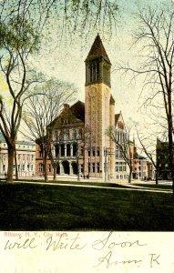 NY - Albany. City Hall