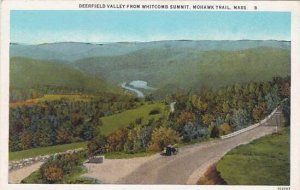 Massachusetts Mohawk Trail Deerfield Valley From Whitecomb Summit