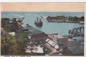 ST. JOSEPH, Michigan, 1921; Harbor View