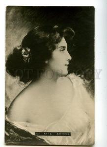 129333 Charming Lady BELLE by Angelo ASTI Vintage PHOTO PC