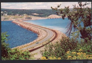 NS CANSO CAUSEWAY connecting the Island of Cape Breton with Mainland 1950s-1970s