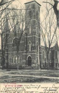 1905 Baptist Church Rome New York Rochester undivided postcard 1039