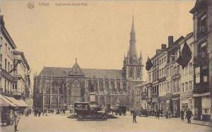 Belgium Brussels Cathedrale Saint-Paul