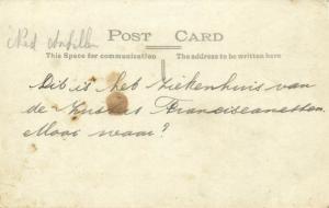 curacao, D.W.I., WILLEMSTAD, St. Elisabeth Hospital (1920s) Capriles  RPPC 26