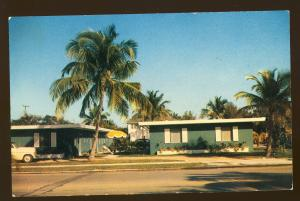 West Palm Beach, Florida/FL Postcard, Sago Inn Apartments, US Route 1, 1960's?