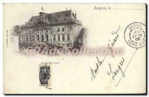 Postcard Langres Old Town Htel