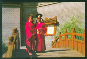 Sung Dynasty Village Wedding Ceremonial Robe Hong Kong Theme Park China Postcard