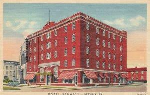 BERWICK , Pennsylvania , 1930-40s ; Hotel Berwick