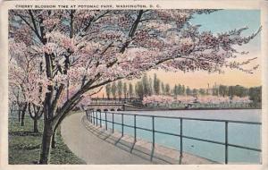 Cherry Blossom Time At Potomic Park Washington DC 1986