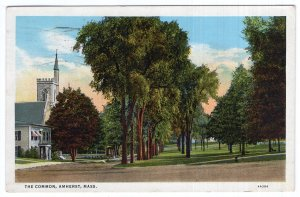 Amherst, Mass, The Common
