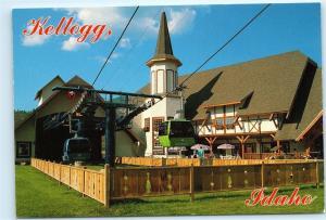 *Kellogg Idaho Silver Valley Alpine Village Gondola 4x6 Postcard B22