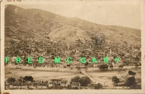 1909 Assenovgrad Bulgaria RPPC: Panoramic View of the Village