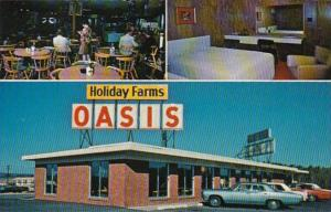 Wisconsin Tomah Holiday Farms Oasis Motel and Restaurant