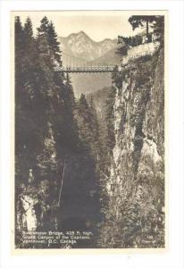 RP  Suspension Bridge, Grand Canyon of the Capilano, Vancouver, B.C., Canada ...