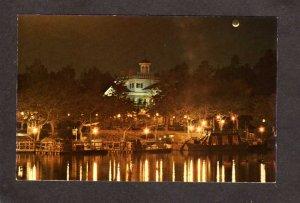 CA Disneyland Haunted House Mansion Amusement Park Anaheim California Postcard