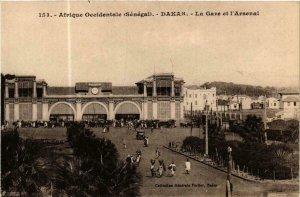 CPA AK Fortier 153, Dakar- La Gare et l'Arsenal, SENEGAL (762821)