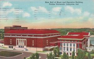 New Hall Of Music And Executive Building Purdue University Lafayette Indiana ...