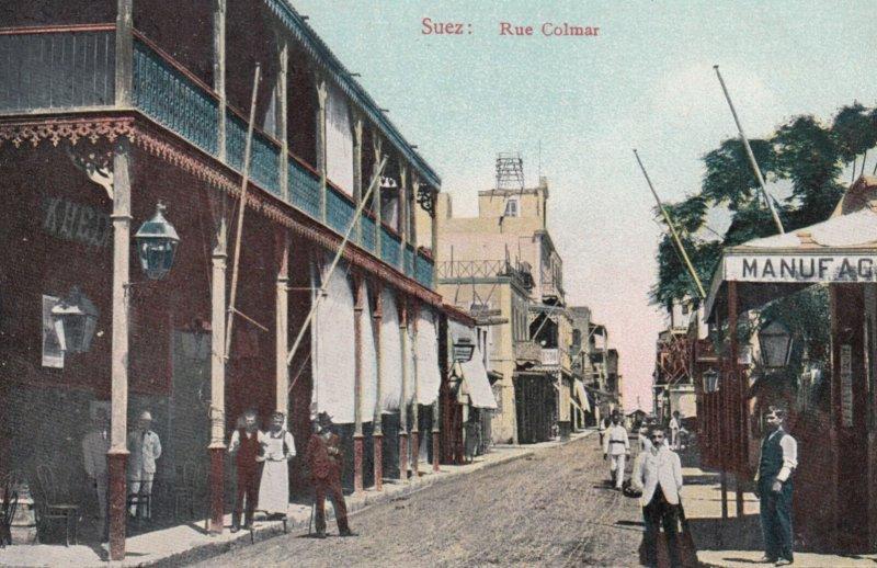 SUEZ , Egypt , 00-10s ; Rue Colmar