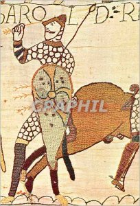 Modern Postcard Bayeux Tapestry eleventh Century Death of Harold