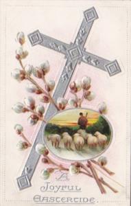 Easter Silver Cross Sheep Herder & Flock Tucks