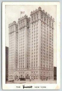 New York City~Vanderbilt Hotel~Bing Crosby: Here Comes the Groom~1951 B&W Adv PC