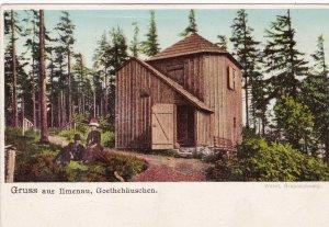 Goethehaeuschen Gruss Aus Ilmenau Germany sk58